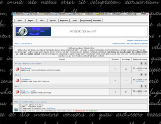 Screenshot des Forums von 2006